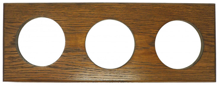 Handmade Treble English  Dark Oak Oak Wall Mount