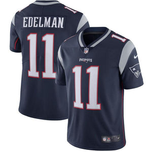 Youth New England Patriots Julian Edelman Nike Navy Vapor Untouchable Limited Player Jersey