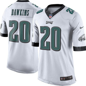 Men's Philadelphia Eagles Brian Dawkins Nike White Retired Player Limited Jersey