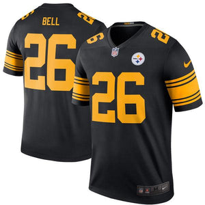 Men's Pittsburgh Steelers Le'Veon Bell Nike Black Color Rush Legend Jersey