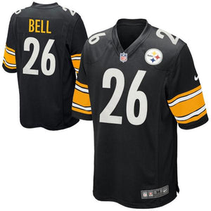 Youth Pittsburgh Steelers Le'Veon Bell Nike Black Team Color Game Jersey