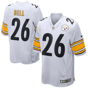 Youth Pittsburgh Steelers Le'Veon Bell Nike White Game Jersey