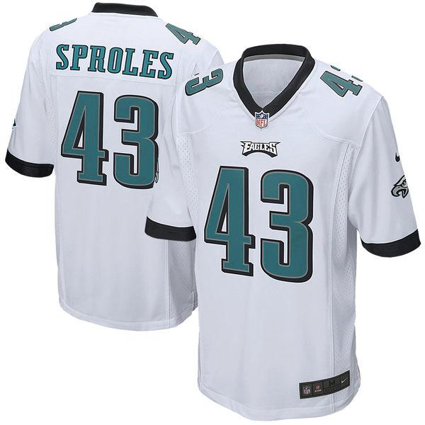 Youth Philadelphia Eagles Darren Sproles Nike White Game Jersey
