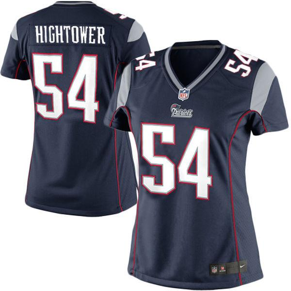 Women's New England Patriots Dont'a Hightower Nike Navy Blue Limited Jersey