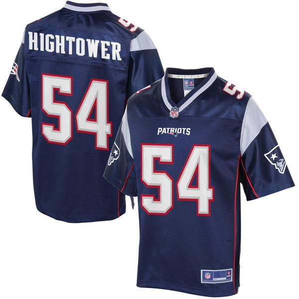Youth New England Patriots Dont'a Hightower NFL Pro Line Navy Team Color Jersey