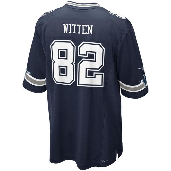 Youth Dallas Cowboys Jason Witten Nike Navy Blue Game Jersey