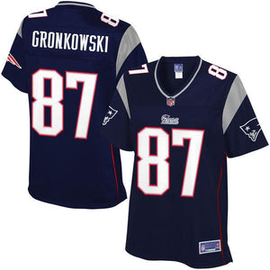 NFL Pro Line Women's New England Patriots Rob Gronkowski Team Color Jersey
