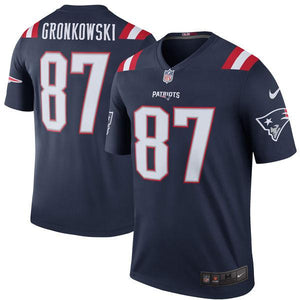 Men's New England Patriots Rob Gronkowski Nike Navy Color Rush Legend Jersey