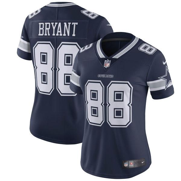 Women's Dallas Cowboys Dez Bryant Nike Navy Vapor Untouchable Limited Jersey