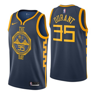 Kevin Durant Warriors Jersey