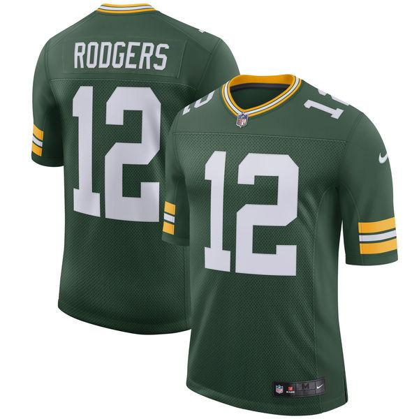 Youth Green Bay Packers Aaron Rodgers Nike Green Classic Limited Player Jersey