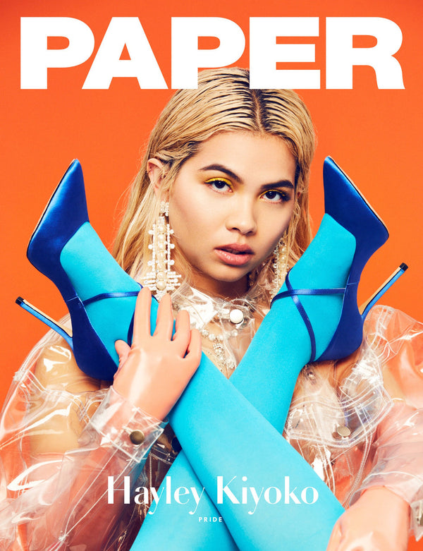 HAYLEY KIYOKO in BRASHY STUDIOS for PAPER MAGAZINE