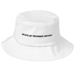 Delete My Browser History Canvas Hat