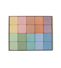 Pastel Earth Cube Set