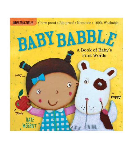 Baby Babble | Indestructibles | Kate Merrit | Baby Books