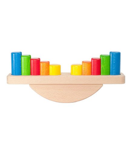 Wooden Balancing Scale Toy | Eco Friendly Baby Gift | Bajo