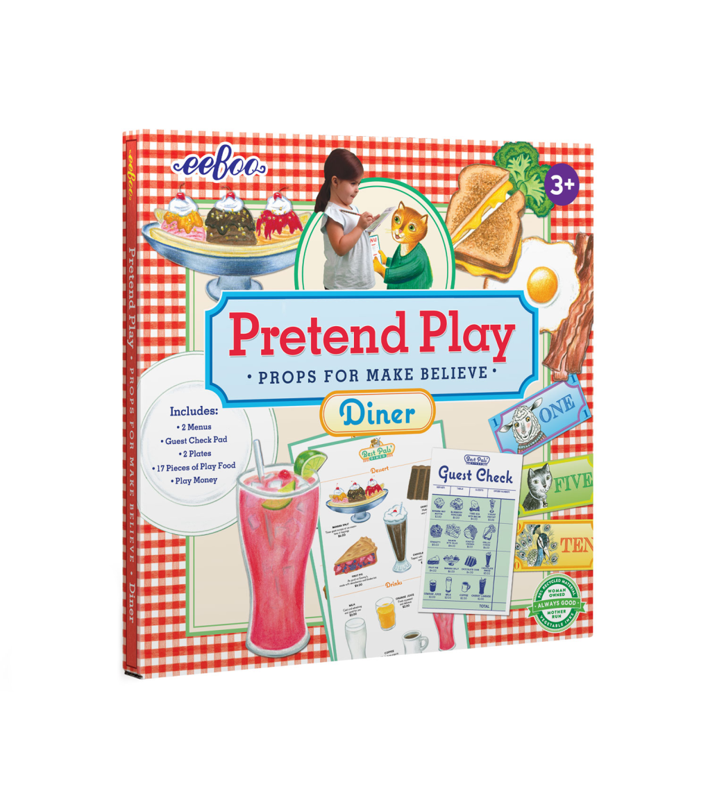 Diner Pretend Play Activity Set