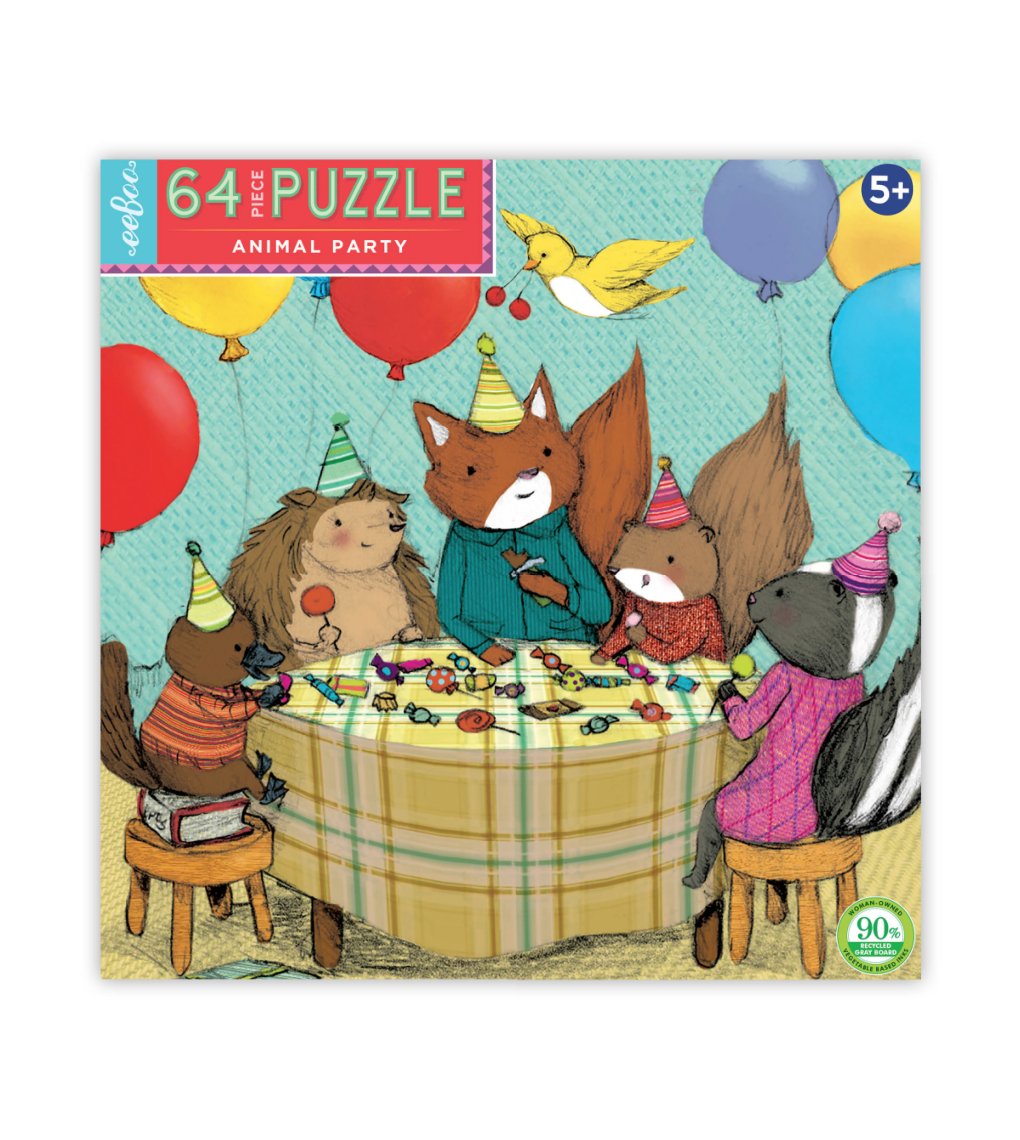Animal Party Puzzle
