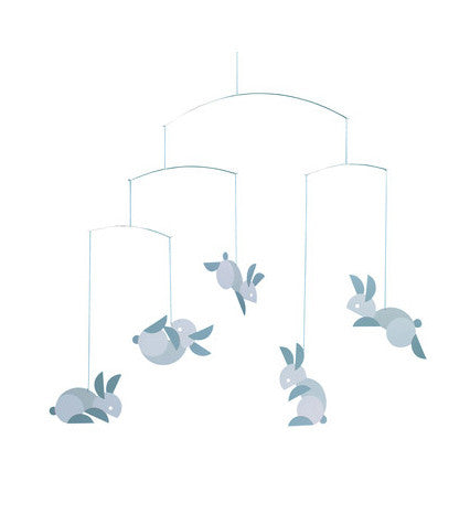 Flensted Jumping Bunnies Mobile | Baby Nursery Mobiles