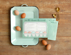Egg Menu Notepad