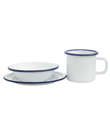 Enamel Dining Set