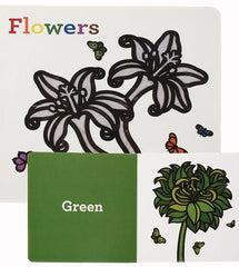 Flowers by Matthew Porter | Baby Board Books | Colors