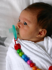 Rainbow Pacifier Chain