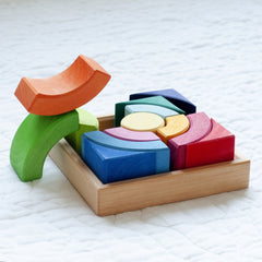 Introductory Building Blocks | Glueckskaefer | Wooden Toys