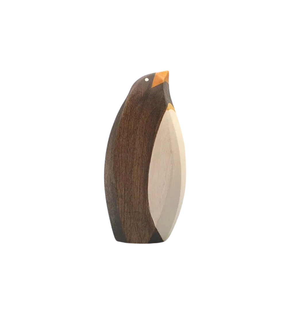Wooden Male Penguin