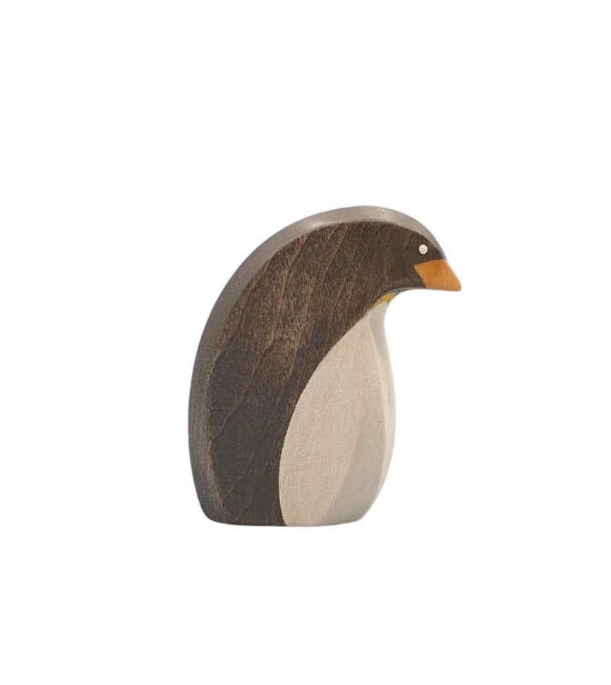 Wooden Female Penguin