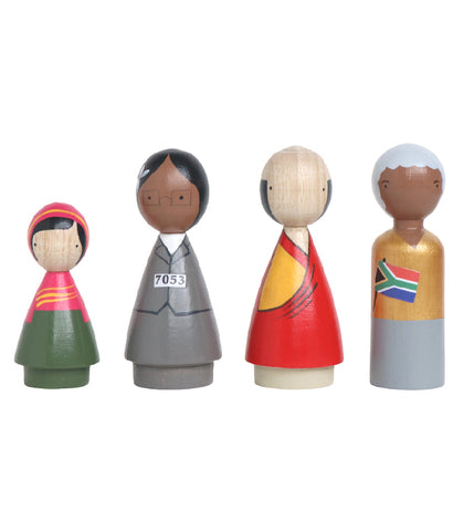 Peace Makers II Peg Doll Set