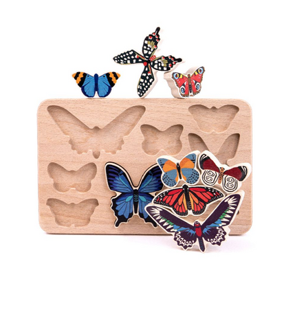 Butterly Puzzle and Stacker