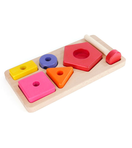 Shape Sorting Board + Stacker