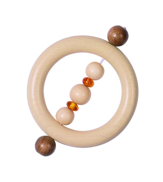 Wooden Amber Teether