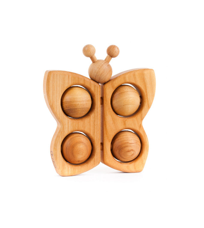 Natural Wooden Butterfly