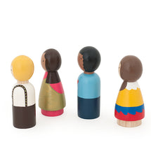 Children of the World Peg Dolls