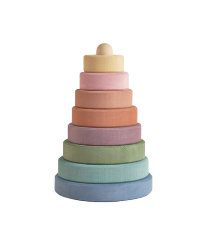 Pastel Earth Stacking Tower