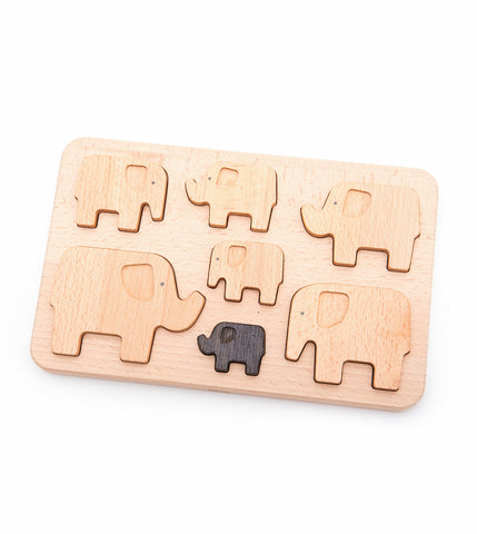 Elephant Puzzle + Stacker
