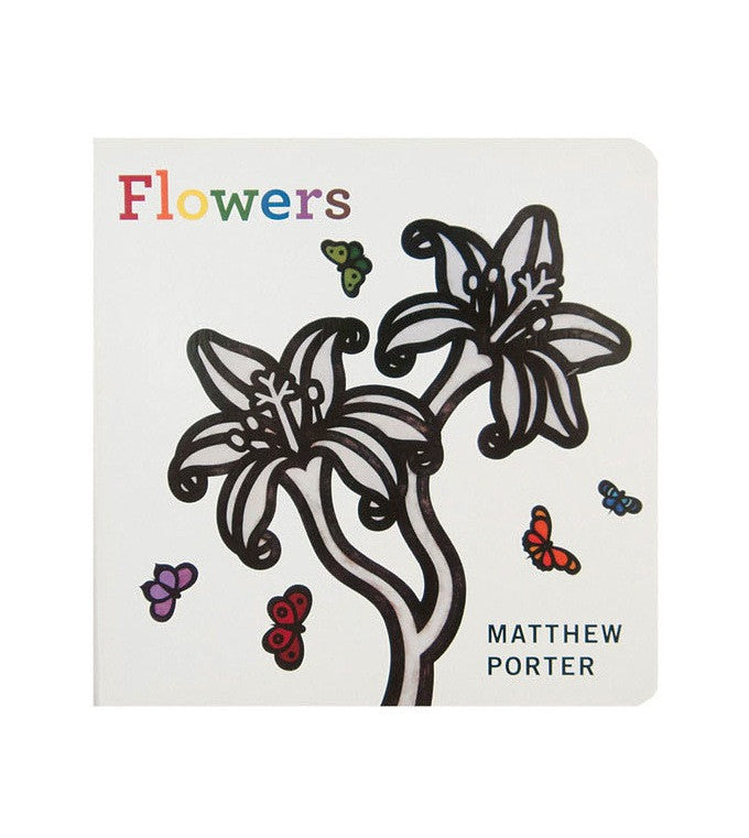 Flowers | Board Books for Babies | Matthew Porter | Brimful Toys