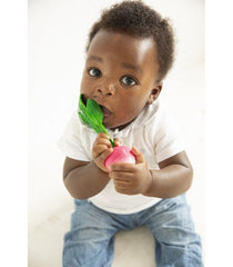 Natural Rubber Radish Teether
