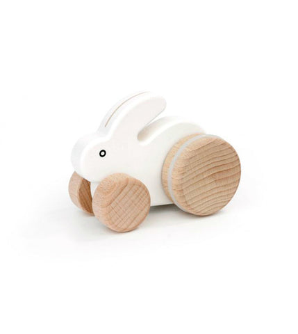 Rolling Rabbit Push Toy