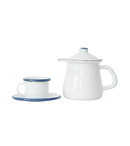Enamel Tea Set