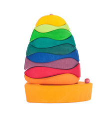 Fish and Boat Stacking Toy | Eco Friendly Wooden Baby Gift