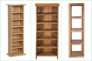 A Narrow Bookcase With Versatility