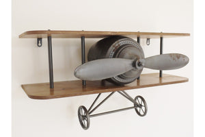 Loft Collection Aeroplane Shelf