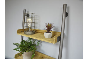 Loft Collection Ladder Style Shelves