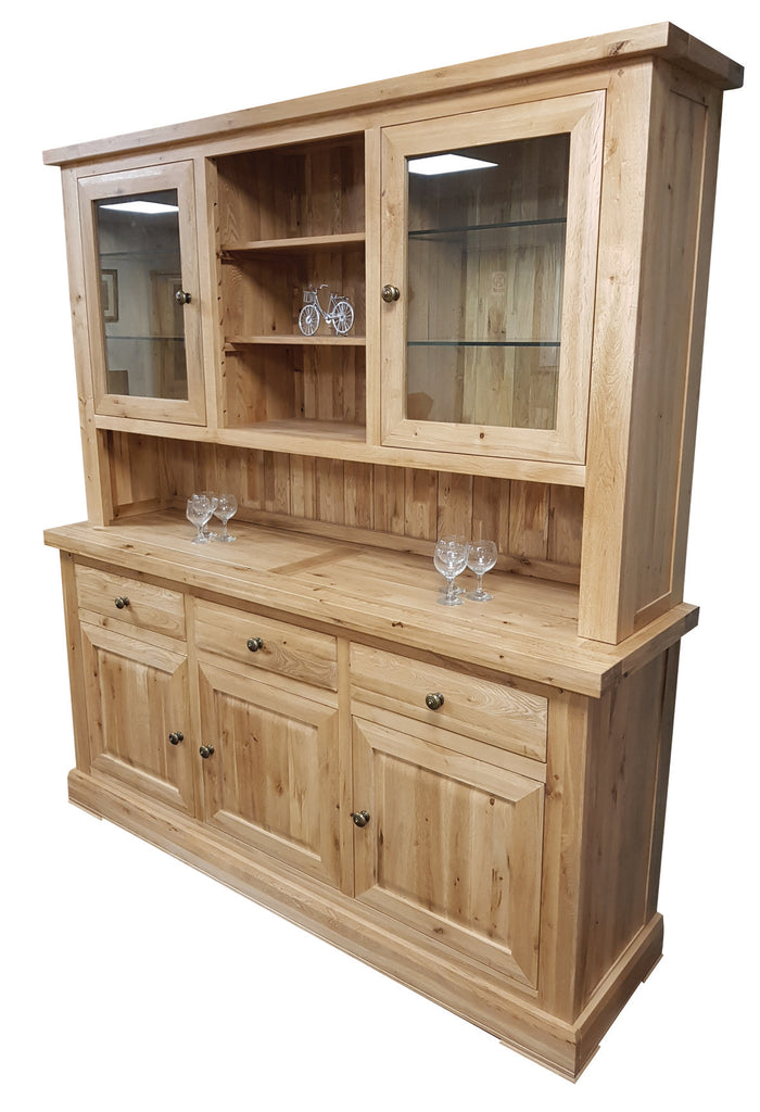 Wessex Large Glazed Dresser