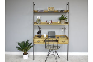 Loft Collection Desk with Shelves