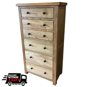 Manhattan Oak Jumbo Wellington Chest