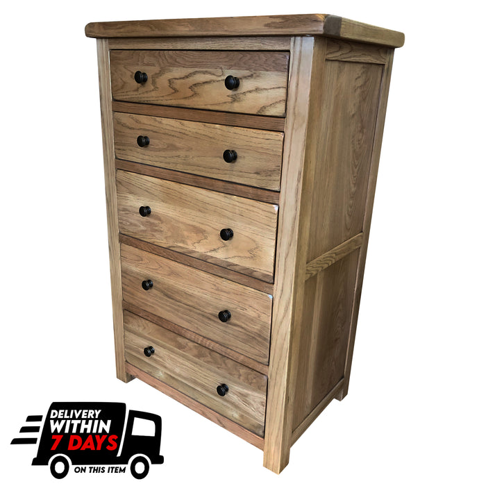Manhattan Oak 50cm Deep Chest